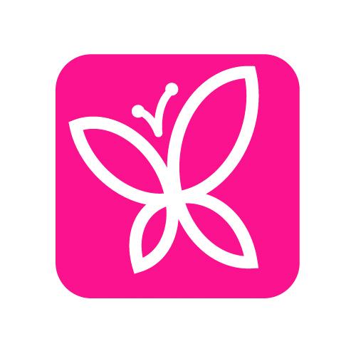 Св. Аметист - SS6 - 25 шт. - Стразы для ресниц светло-розовые